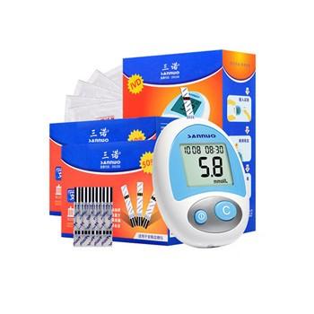 三诺安稳型家用血糖测试仪+50支瓶装/独立装试纸