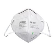 9001 环保包装折叠耳带式防尘口罩