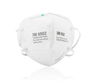 9502折叠头戴式防护口罩(双片包装)