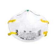 8210CN N95白色头戴式防尘口罩( 中英文防伪包装)