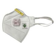H1005591V H901V KN95耳带式折叠口罩带阀