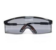 100111 S200A防雾防刮擦(黑色镜架灰色镜片)