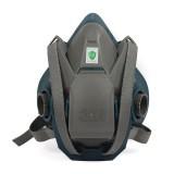 6502QL 快扣硅胶半面型防护面罩(中号)