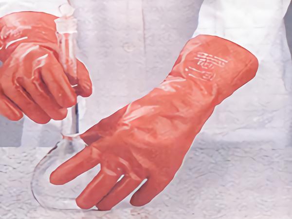 耐酸堿手套,45 cm