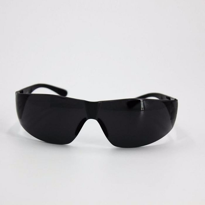 芯硅谷® S4264 安全防护眼镜,褐色镜片,耐高温,滤强光,流线贴面型