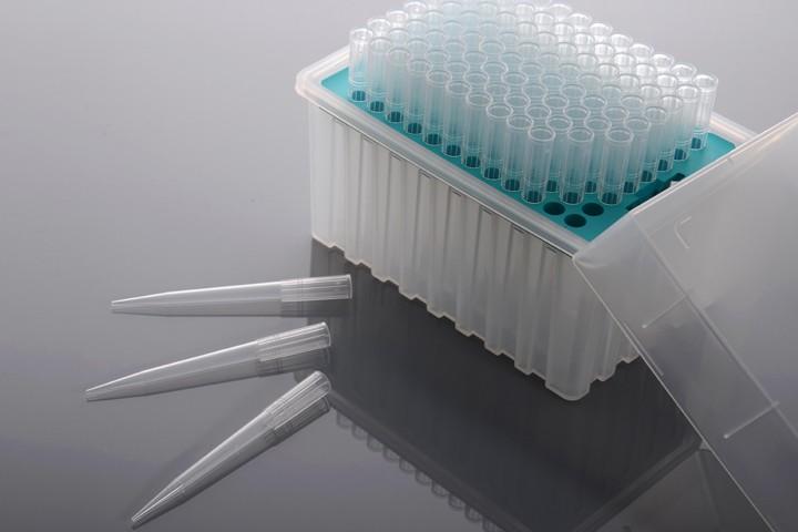 10uL 透明吸头,盒装,灭菌