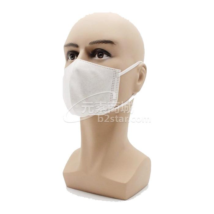 芯硅谷® E6287 3D立体无纺布口罩(三层),弹力布耳挂