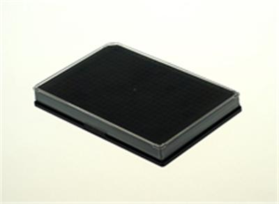 384孔细胞培养板,平底,黑色,TC
