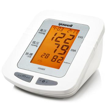 鱼跃臂式电子血压计YE666E